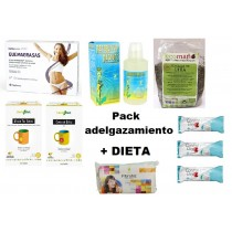 Pack adelgazamiento + dieta