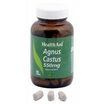 AGNUS CASTUS 550 MG HEALTH AID 60 C0MPRIMIDOS.