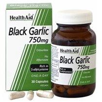 BLACK GARLIC 30 CAPSULAS HEALTH AID.