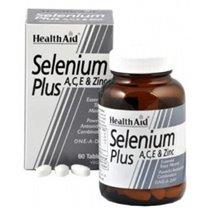 SELENIO PLUS 60 C0MPRIMIDOS HEALTH AID.
