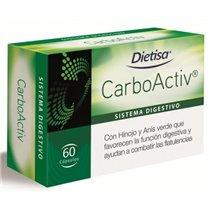 CARBOACTIV  60 CAPS.DIETISA