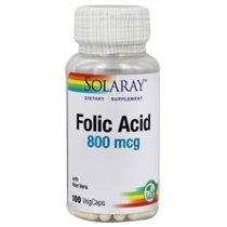 acido folico solaray