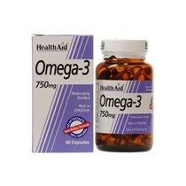 OMEGA 3  60 CAPS HEALTH AID